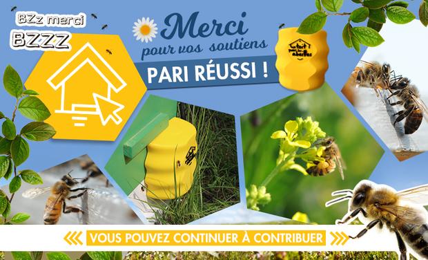 Visuel du projet Les ruches connectées Un Toit Pour Les Abeilles
