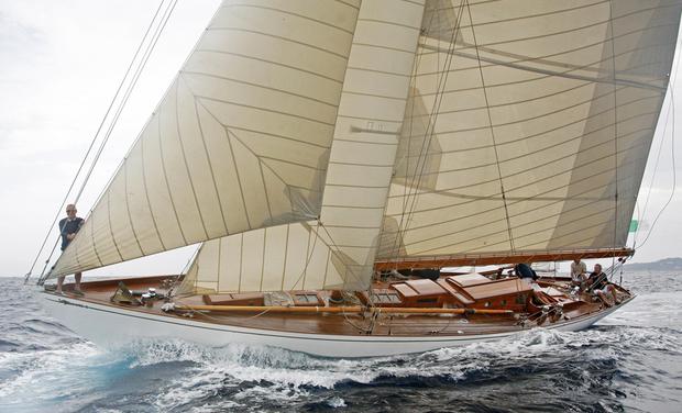 Visueel van project Restauration d'un yacht d'exception - IRINA VII
