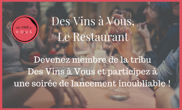Visuel du projet Des Vins à Vous - Le Restaurant