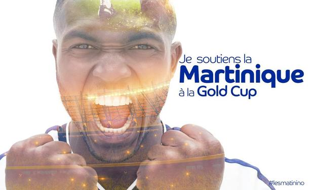 Project visual JE SOUTIENS LA MARTINIQUE A LA GOLD CUP 2019