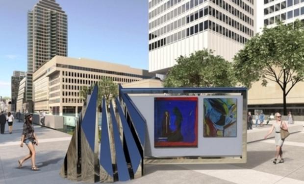 Visueel van project Invention d'un concept de mobilier urbain pour promouvoir l'art
