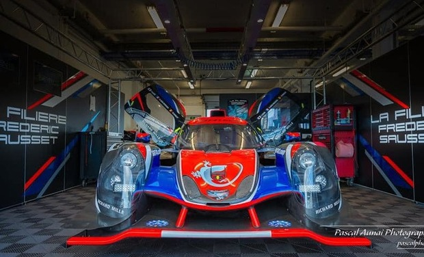 Visuel du projet L'intégration du handicap dans le sport automobile objectif 24H du Mans 2020