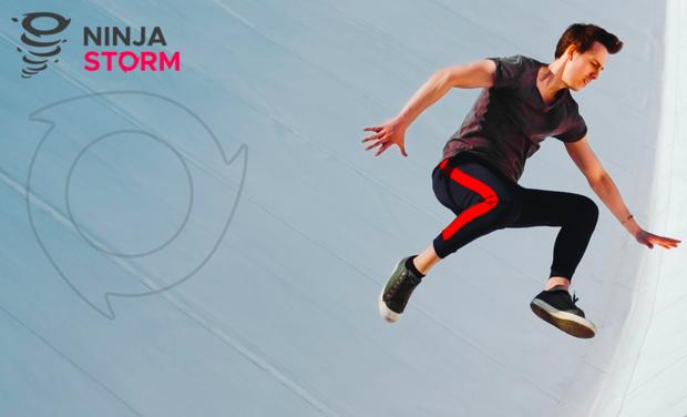 Visuel du projet NINJASTORM Votre parcours d'obstacles indoor !