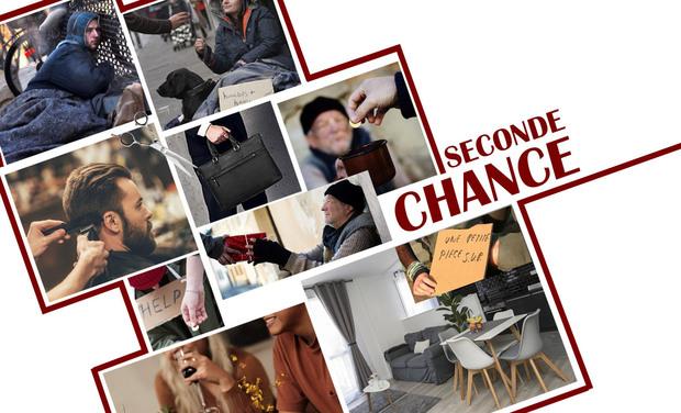 """Visueel van project """"SECONDE CHANCE"""", une merveille de sensibilité"""