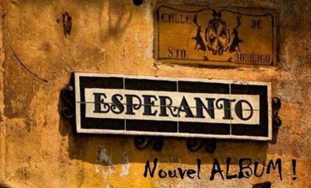 Visueel van project Groupe ESPERANTO, Deuxième album!