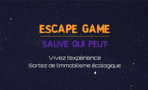 Visueel van project Sauve qui peut - Escape game