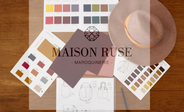 Project visual Maison Ruse : Slow fashion in slow motion