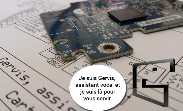Visuel du projet Gervis : Votre assistant domotique domestique vocal