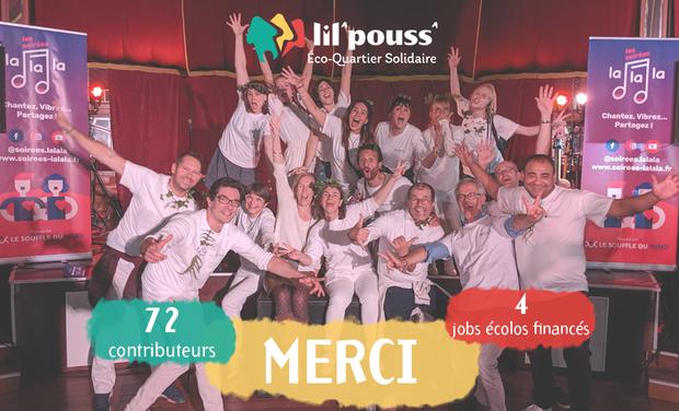 Visuel du projet La Chtite Maison Solidaire présente Lil'Pouss'