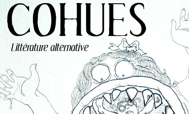 Visuel du projet Cohues - Littérature alternative - version papier