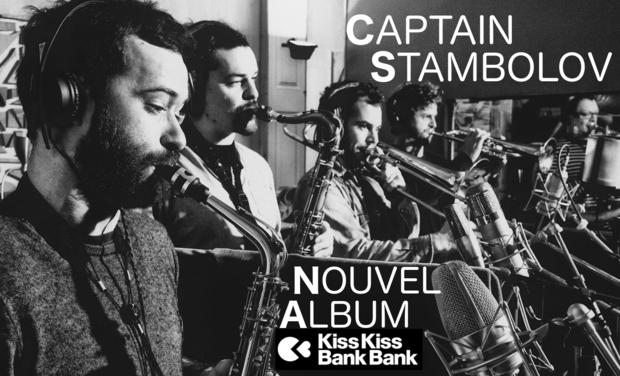 Visuel du projet CAPTAIN STAMBOLOV - NOUVEL ALBUM