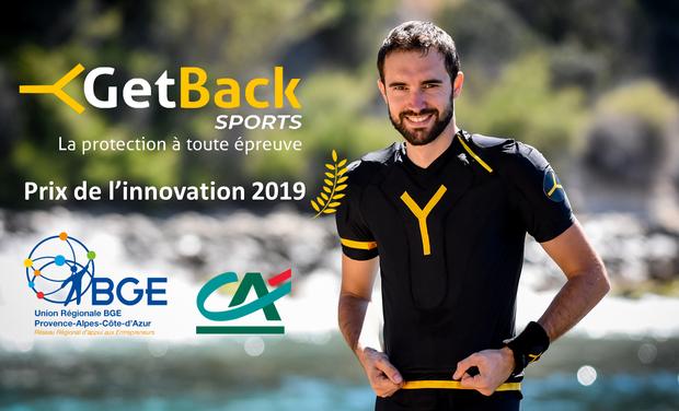 Visuel du projet GetBack Sports : Un kit de protection pour tous les sports!