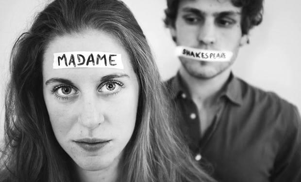 Visuel du projet Madame Shakespeare - Festival Avignon OFF 2019