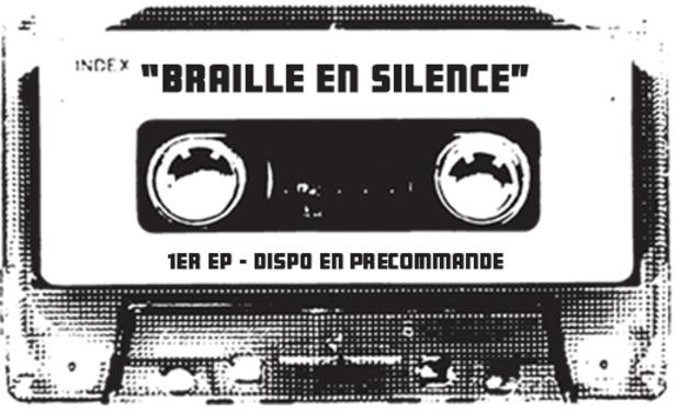 Visuel du projet Baptist' - Sortie du 1er EP - BRAILLE EN SILENCE
