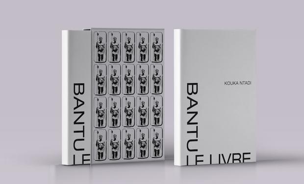 """Visuel du projet """"Bantu le Livre"""":  10 années de peintures par l'Artiste Kouka Ntadi."""