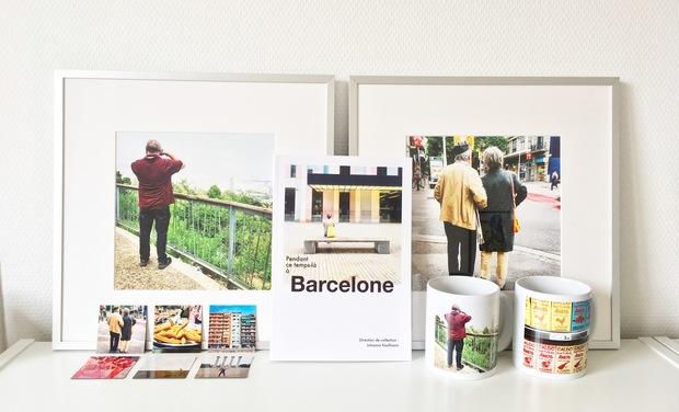 Visuel du projet Pendant ce temps-là à Barcelone, une série d'objets photo prêts-à-dépayser !