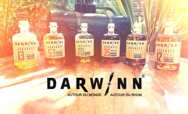 Visuel du projet DARWINN RHUMS Les rhums arrangés qui font voyager