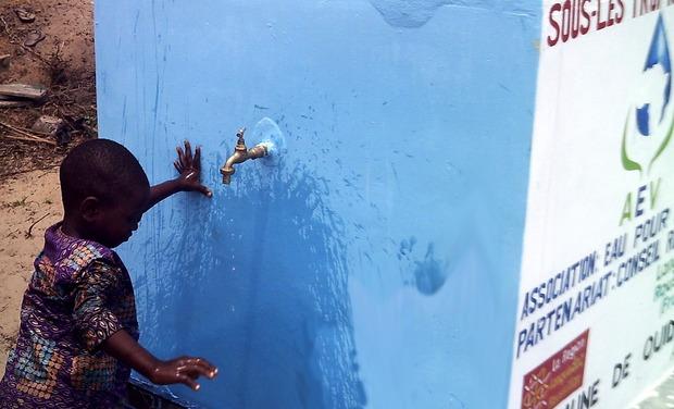 Visuel du projet Eau et développement au Bénin