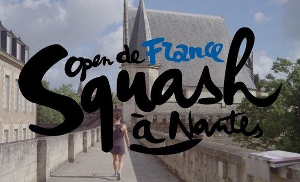 Visuel du projet Open de France de Squash au Château des ducs de Bretagne de Nantes