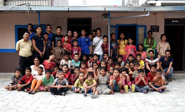 Visuel du projet Sari ESSEC - Un nouveau toit pour les enfants du New Nepal Society Center