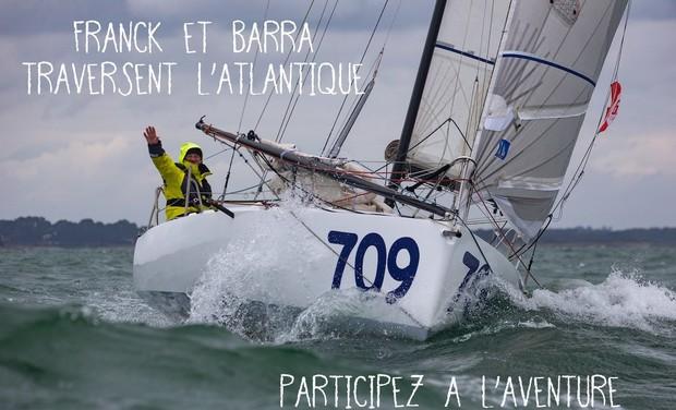 Project visual Franck et Barra traversent l'Atlantique