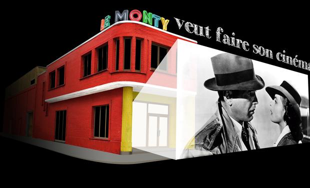 Visuel du projet Le Monty ouvre son nouveau cinéma