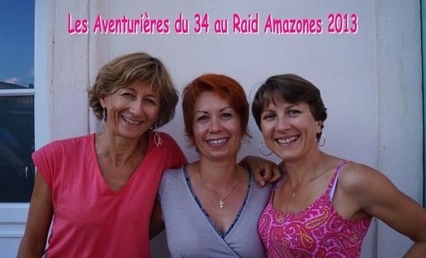 Visuel du projet Les Aventurières du 34 au Raid Amazones 2013
