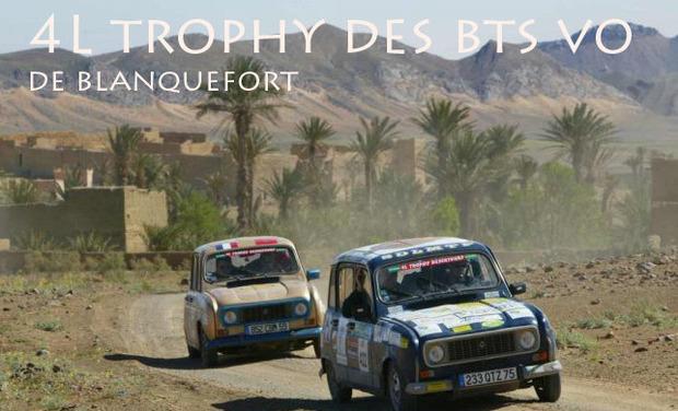 Visuel du projet Le 4L trophy des bts VO de blanquefort