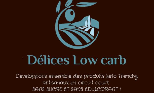 Visuel du projet Délices Low Carb : la boutique kéto Frenchy online qui innove !