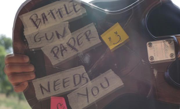 Project visual Pressage Vinyl  //  Battle Gun Paper