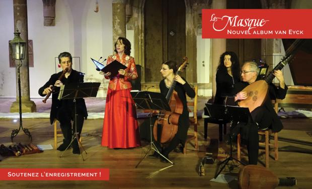 Visuel du projet Le Masque, nouvel album van Eyck