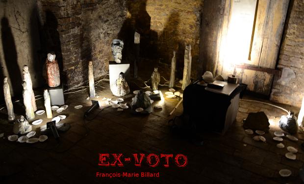 Visueel van project Ex-Voto.