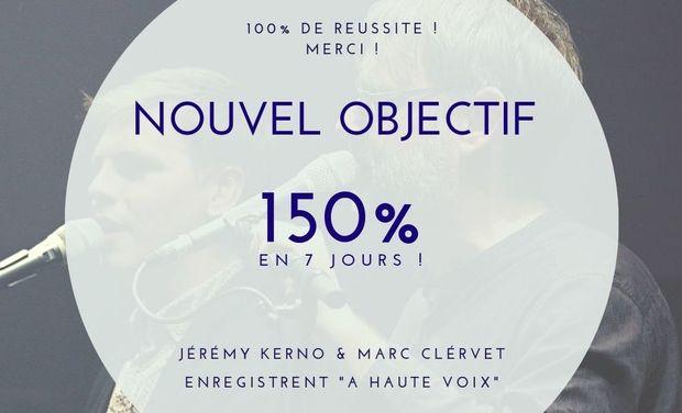 Visuel du projet Nouveau CD : Jérémy Kerno & Marc Clérivet - A haute voix