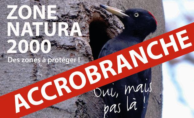Visuel du projet Une zone Natura 2000 sacrifiée