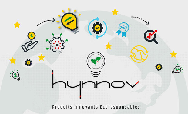 Visuel du projet Hynnov le distributeur de produits innovants et écoresponsables