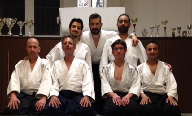 Project visual Aménagement d'une salle de Yoga en Dojo