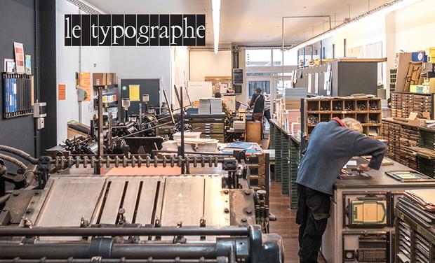 Visueel van project le typographe