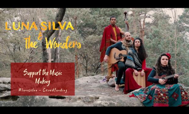Visuel du projet 🌠 Luna Silva & The Wonders- Debut Album 🌠