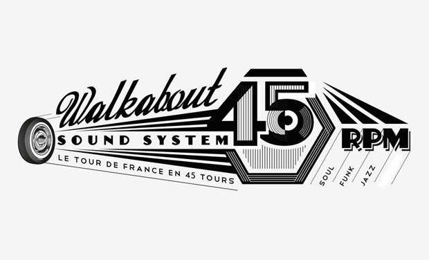 Visuel du projet Le Tour de France en 45 Tours