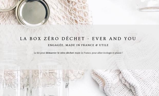 Visuel du projet Ever and You - La BOX ZÉRO DÉCHET , 100 % Made in France