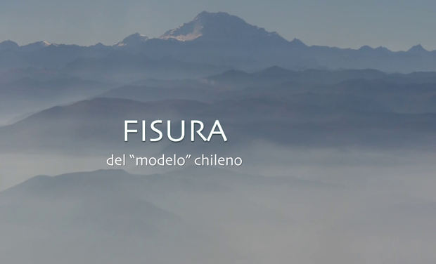 "Visueel van project Documentaire : FISURA (du ""modèle"" chilien)"