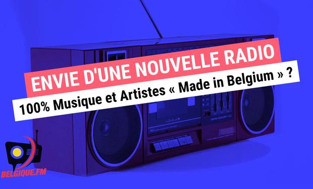 Visueel van project Radio BELGIQUE.FM