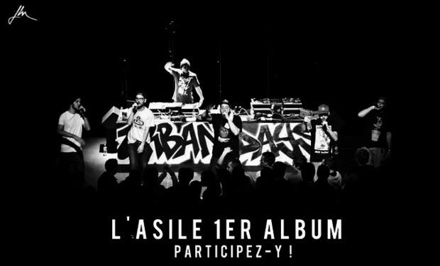 Visuel du projet L'Asile // Premier Album // Participez-y !