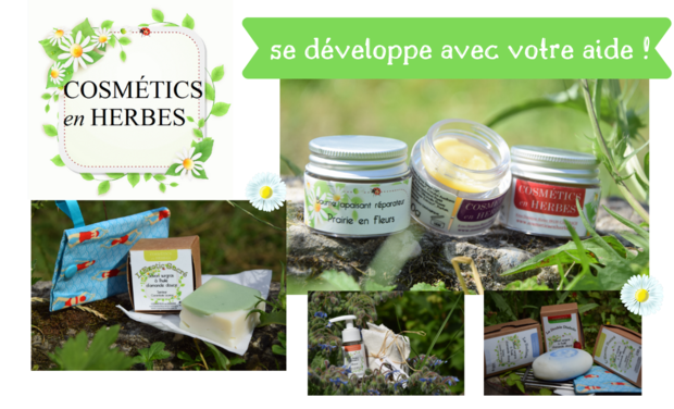 Project visual Cosmétics en Herbes se développe