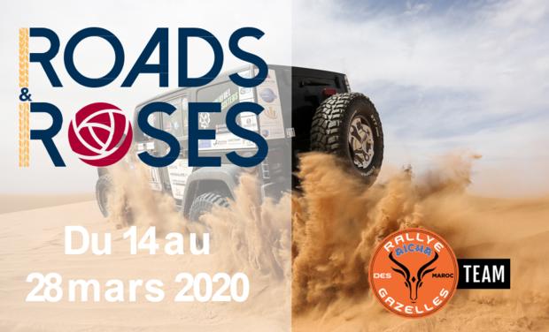 Project visual Rallye Aïcha des Gazelles 2020 avec les Roads and Roses