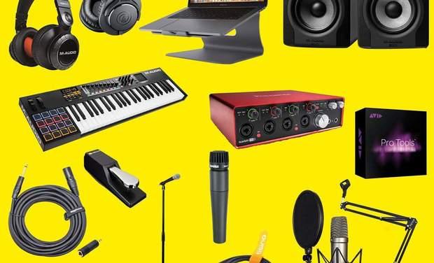 Visuel du projet Modeste GBENONNOU : Créativité + Partage = Le Home Studio d'Enregistrement
