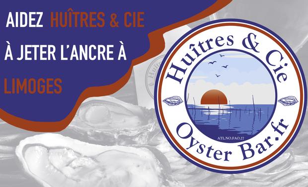 Project visual Huîtres & Cie jette l'ancre à Limoges