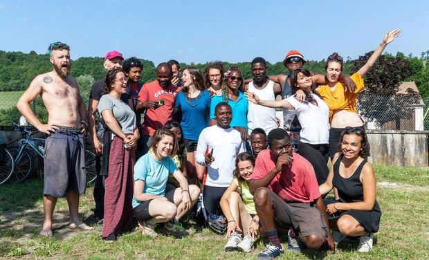 Project visual Coloc' solidaire estivales