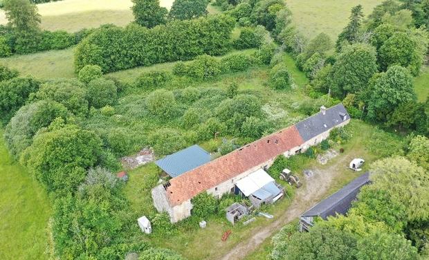 Project visual ferme agro-tourisme dans le cotentin