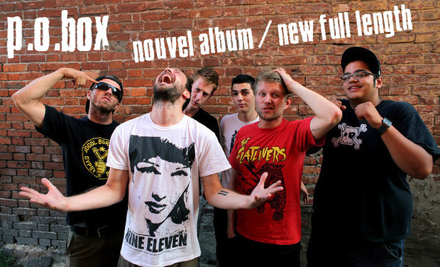 Project visual P.O.Box - Enregistrement d'un nouvel album / Recording a new full length